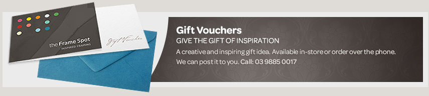 Gift Vouchers for framing